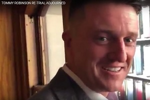 Tommy Robinson Re-Trial Postponed Until October 23, 2018